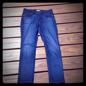 🆕Women's petite LOFT curvy straight jeans